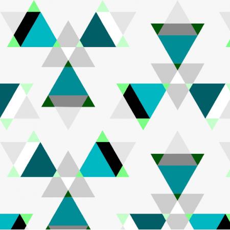 Fabric 7035 | jasne trojkaty