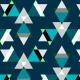 Tkanina 7036 | gwiezdziste trojkaty0