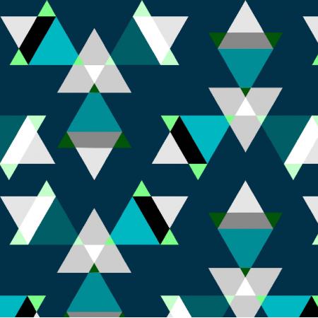 Fabric 7036 | gwiezdziste trojkaty0