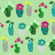 Tkanina 7139 | kaktusowa mieta