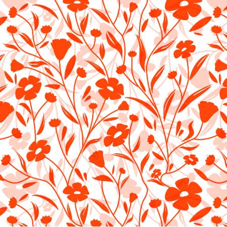 7177 | kwiaty lnu czerwone