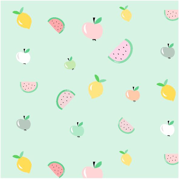 Tkanina 7182 | Owoce