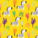 Tkanina 7277 | Little savanna11