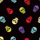 Tkanina 7299 | wesołe czaszki