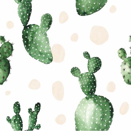 Fabric 7332 | OPUNTIA WATERCOLOR