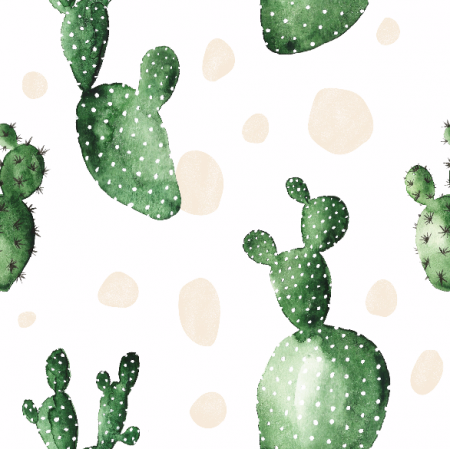 Fabric 7332 | OPUNTIA WATERCOLOR