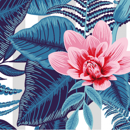 Tkanina 7515 | floral-006