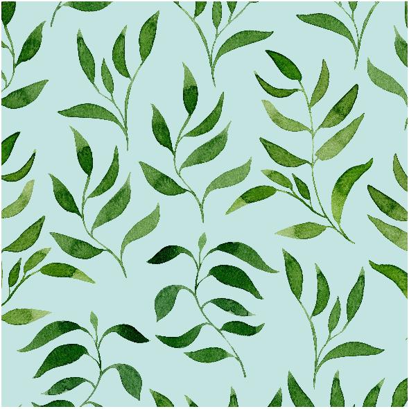 Tkanina 7610 | zieleń 2b