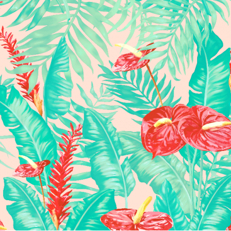 Fabric 7787 | tropical-7