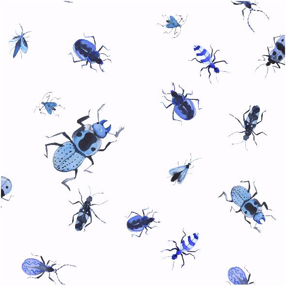 Tkanina 7963 | owady