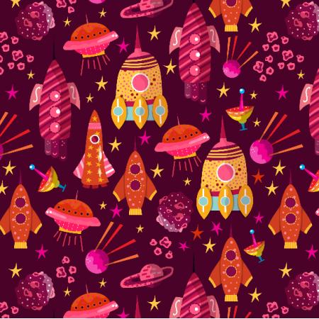 Fabric 8001 | Statki Kosmiczne