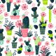 Tkanina 8104 | Kaktusy