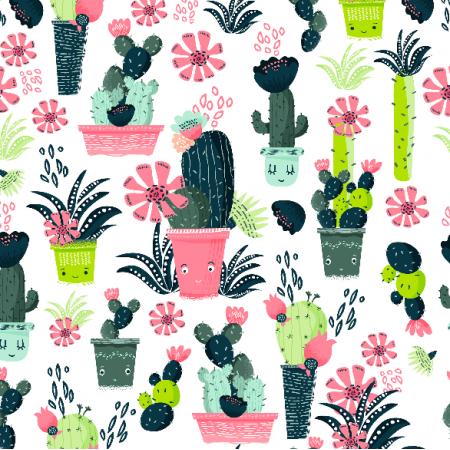 Fabric 8104 | Kaktusy