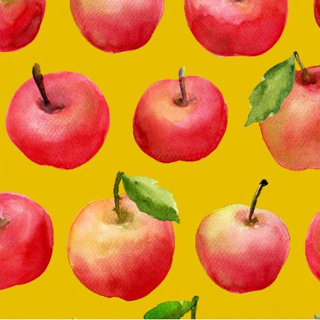 Tkanina 8439 | jabłka