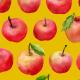 Fabric 8439 | jabłka