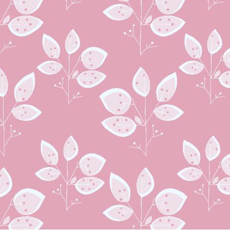 Tkanina 8606 | SURI różowe drzewka