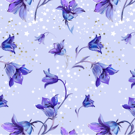 Fabric 8679 | Bluebell