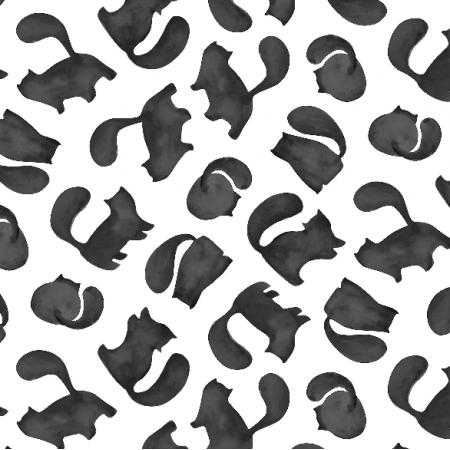 Fabric 8887 | koty b&w