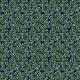 Tkanina 8890 | listki zielone