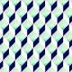 Tkanina 8942 | Hexa morski