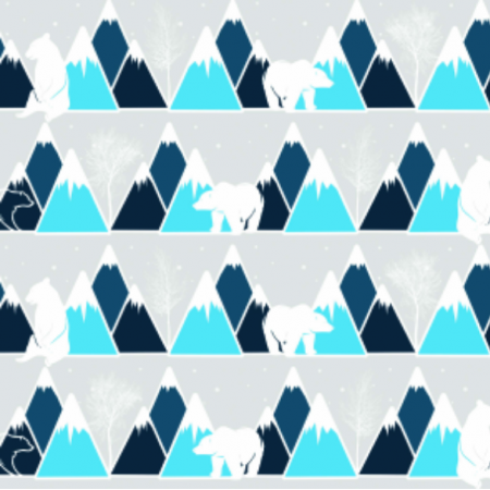 Fabric 9026 | Gorski mis