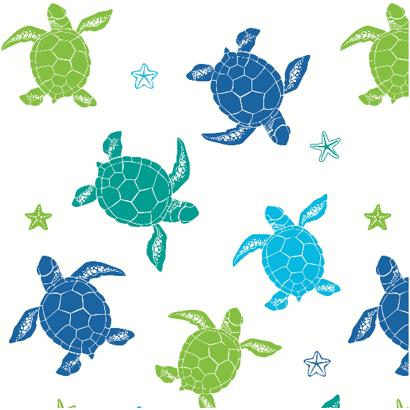 Fabric 9116 | sea turtles