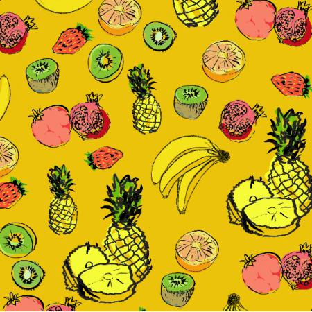Tkanina 9212 | owoce