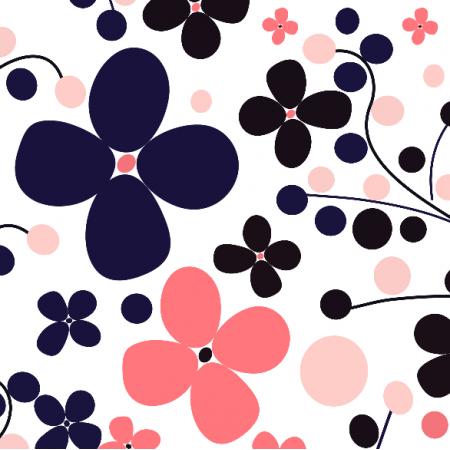 Fabric 9242 | Kaori kwiatowa łąka
