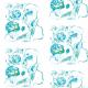 Tkanina 9360 | FLORAL PATTERN
