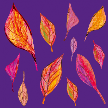 Fabric 9369 | autumn leaves