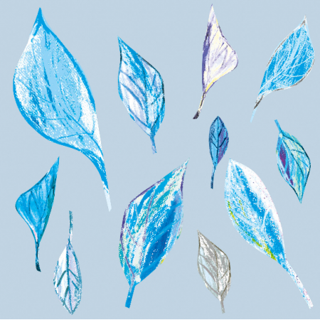 Fabric 9370 | WINTER LEAVES
