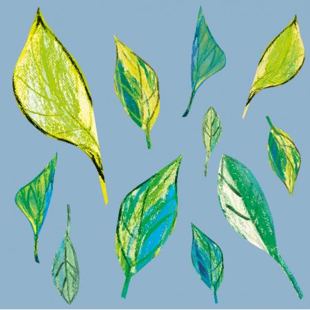 9371 | Spring leaves