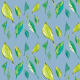Fabric 9371 | Spring leaves