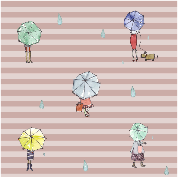 Tkanina 9375 | rain