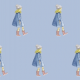 Tkanina 9377 | girl
