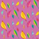 Fabric 9388 | SUMMER LEAVES