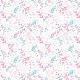 Tkanina 9398 | FLOW - WHITE