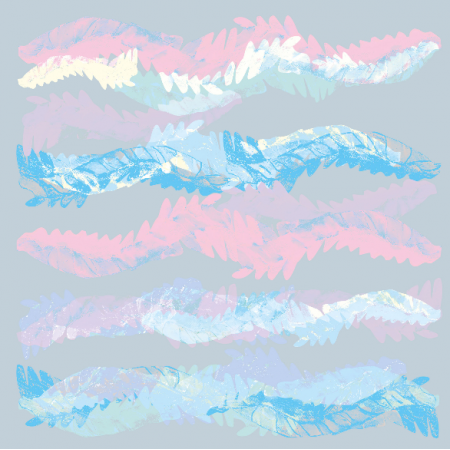 Tkanina 9439 | Pastel Waves