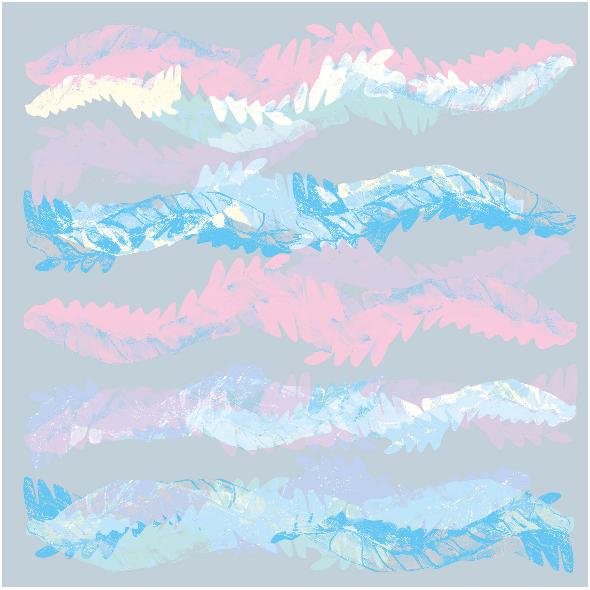 Tkanina 9439 | Pastel Waves