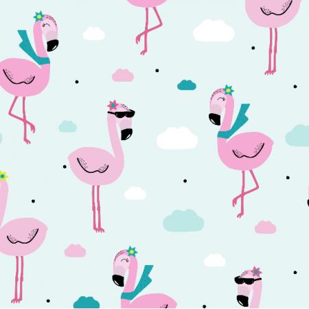 Fabric 9472 | bingo flamingo
