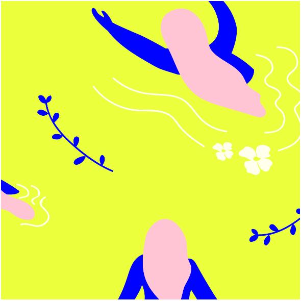 Fabric 9553 | WOMEN TRIBE YELLOW