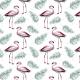 Tkanina 9599 | los flamingos