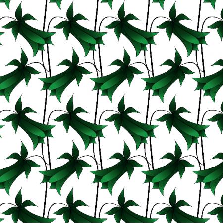 Fabric 9602   Dzwonek zielony