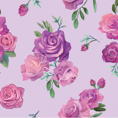 Fabric 9607 | Roses