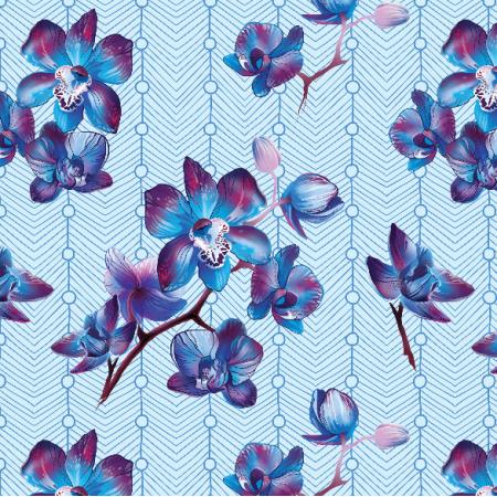 Tkanina 9615 | Orchid 3