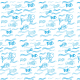 Fabric 9625 | FISHES IN THE WATER 2
