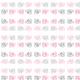 Tkanina 9626 | PINK and gray ELEPHANTS0
