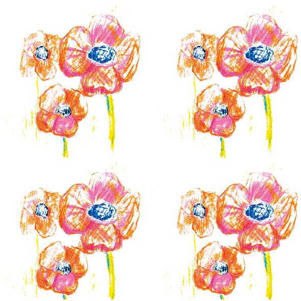 Tkanina 9630 | Flowers