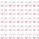 Fabric 9641 | PINK and gray ELEPHANTS  2