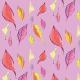 Tkanina 9645 | Pastel Leaves